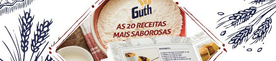 Consumidores farão o Livro de Receitas Guth