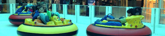 Bumper Car é a nova atração do Neumarkt