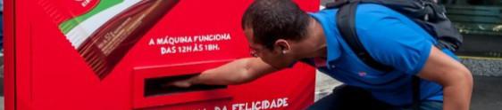 Sampling machine da Kibon movimenta Av. Paulista