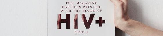 Revista suíça é impressa com sangue infectado