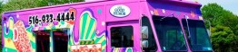 Dover Group unveiled the new Carnival Ice Cream trucks hitting the streets this summer, targeting the new generation of ice cream lovers.   Photo By Edmund J Coppa