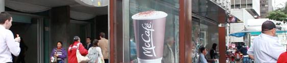 Ação inédita do McDonald's aquece o inverno em SP