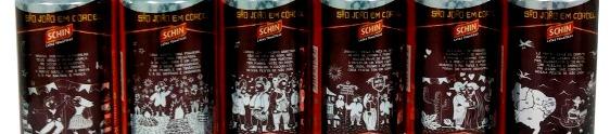Schin apresenta latas colecionáveis com temáticas de cordel