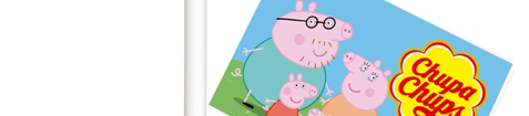 Pirulito da Peppa Pig é a novidade da Chupa Chups