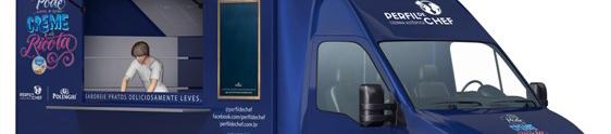 Polenghi ativa novo produto com food truck itinerante