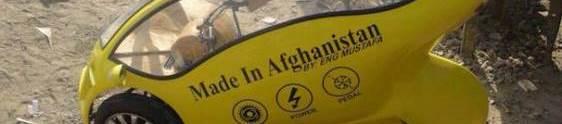 Carro movido a energia solar é criado no Afeganistão