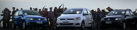 Ação promo da Volkswagen já tem rock ganhador