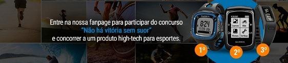 """""""Não há vitória sem suor"""" na ação promo da Garmin"""