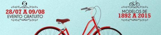 Portal Shopping recebe bicicletas antigas e volta ciclística