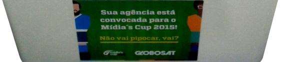 Globosat convida agências para o Mídia's Cup