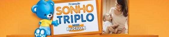 Pepper assina ação Sonho Triplo Mucilon