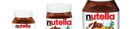 Nutella apresenta produto com embalagem maior