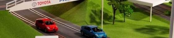 Toyota apresenta carrinhos movidos a ondas cerebrais