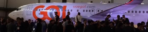 Evento da GOL em Confins apresenta nova marca