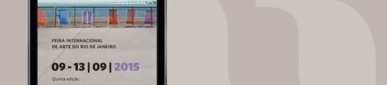 ArtRio disponibiliza aplicativo para auxiliar os visitantes