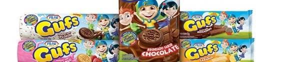 Pilar investe na linha de biscoitos Gufs