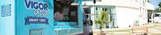 Vigor Grego leva iogurte truck à Festa do Peão de Barretos