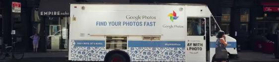 Google divulga app de fotos em ação de live mkt