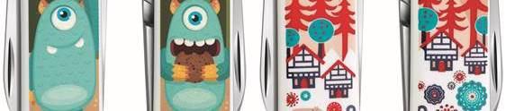 Victorinox convida consumidores para ilustrarem canivetes