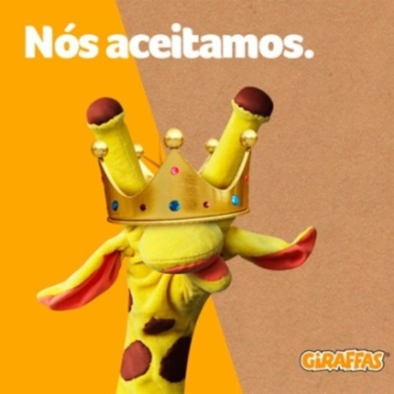 giraffas burger king mcdonalds